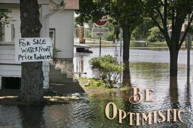 optimistic signs