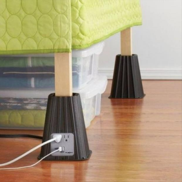 outlets for your bed