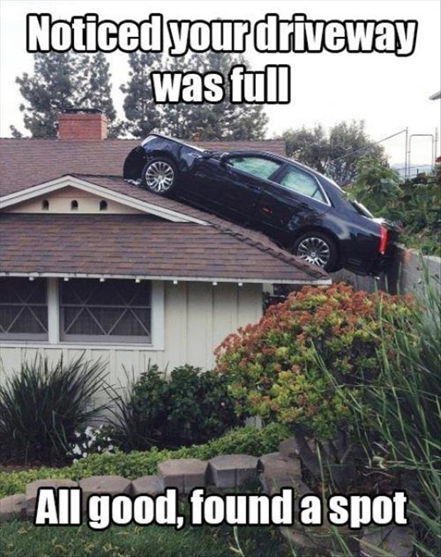parking on your roof
