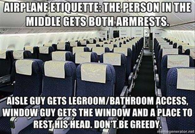 proper airplane behavior