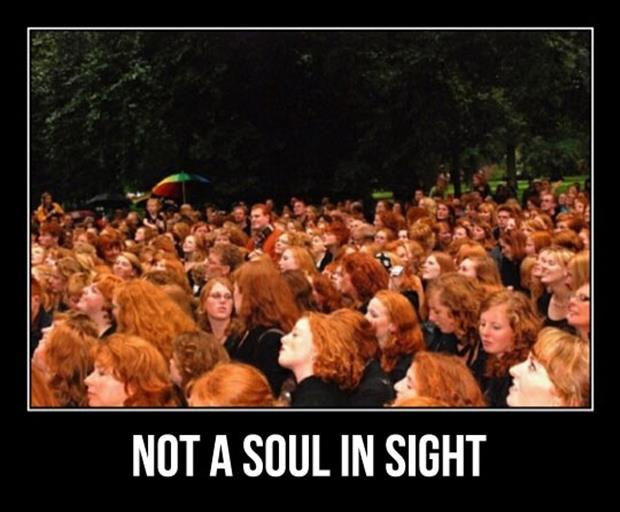 redheads don't have a soul