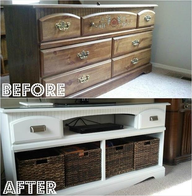 reuse your old dresser