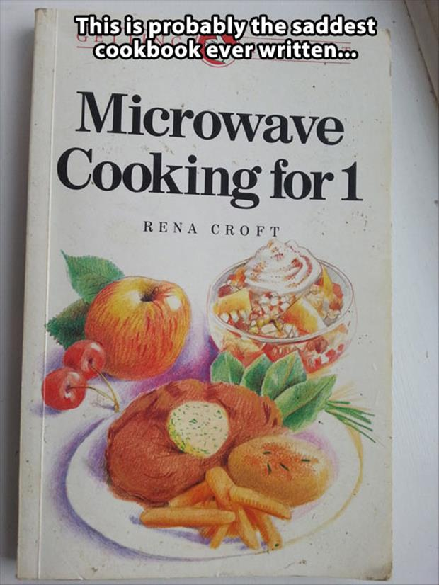 sadest cook book ever
