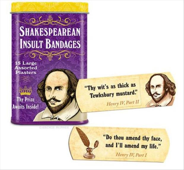 shakespears funny insults