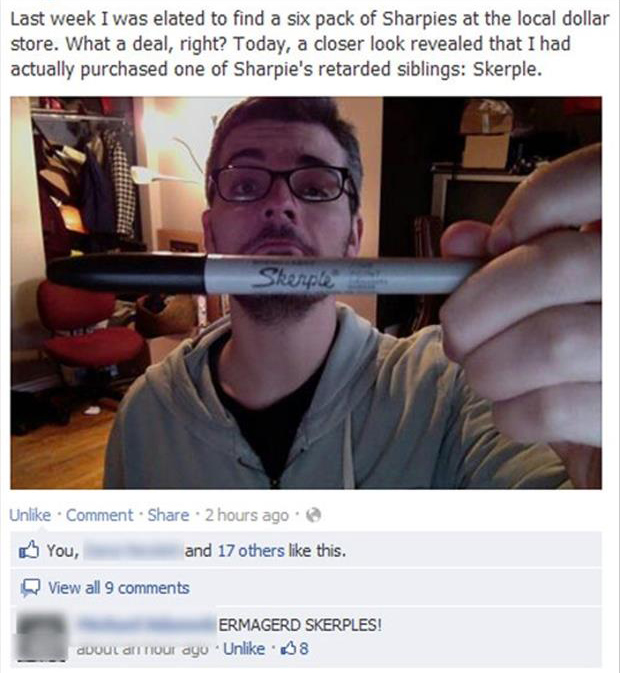 sharpie funny pictures