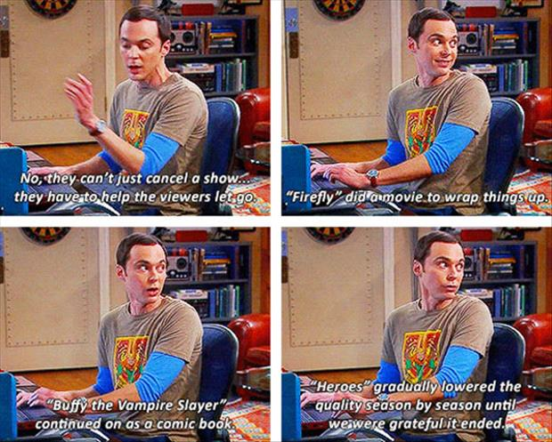 sheldon cooper tv captions