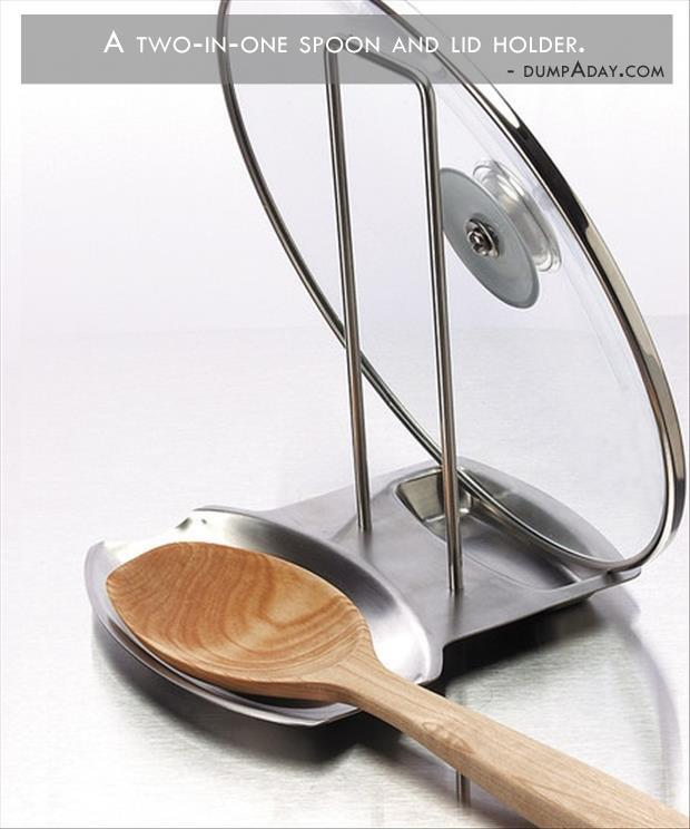 spoon and lid holder