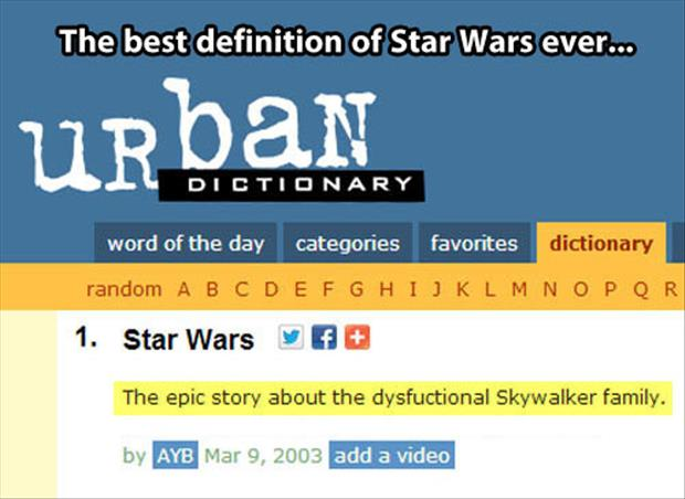 star wars definition