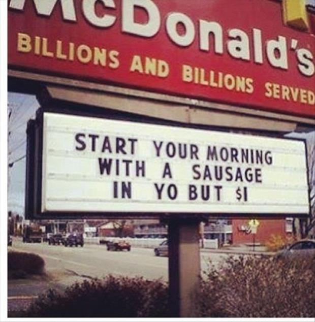 start your morning at McDonalds