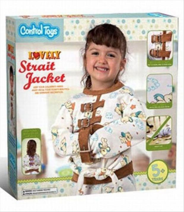 straight jacket for crazy kids