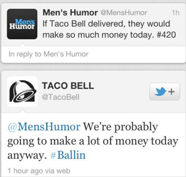 taco bell twitter quotes