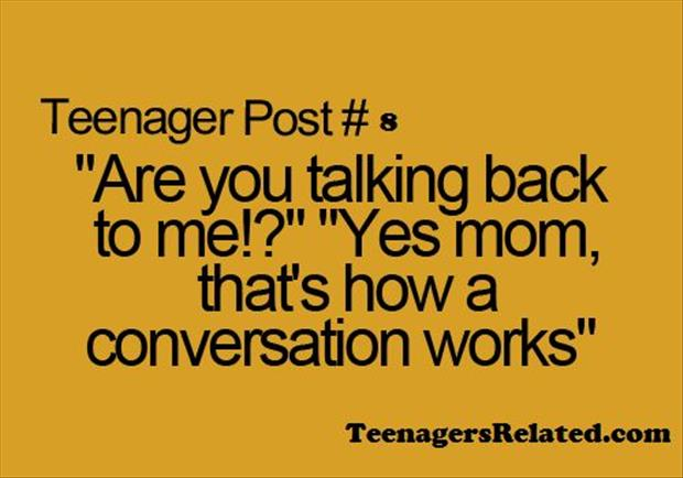 talking with your mom
