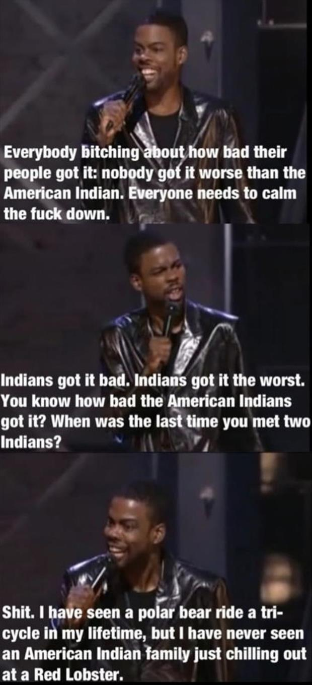 the american indian funny