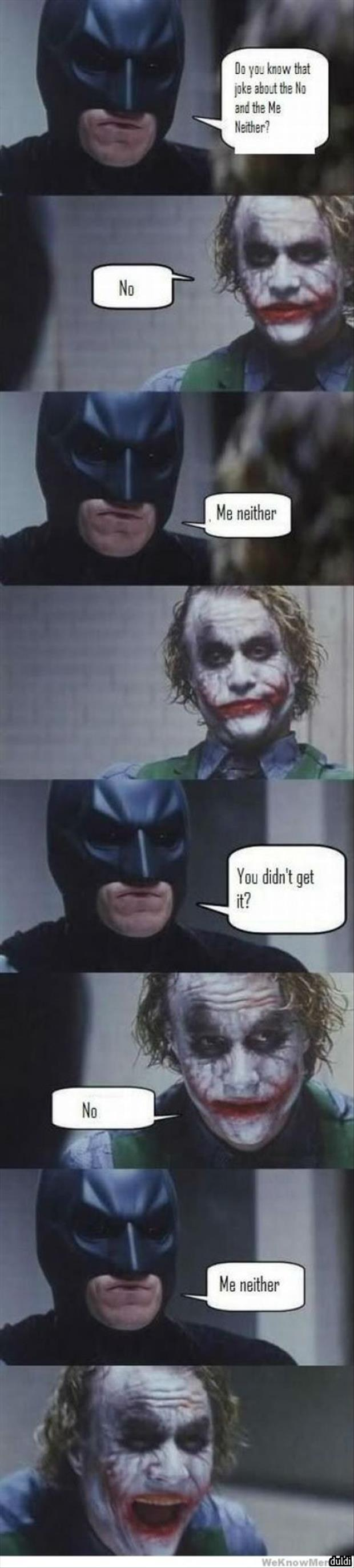 the batman joke