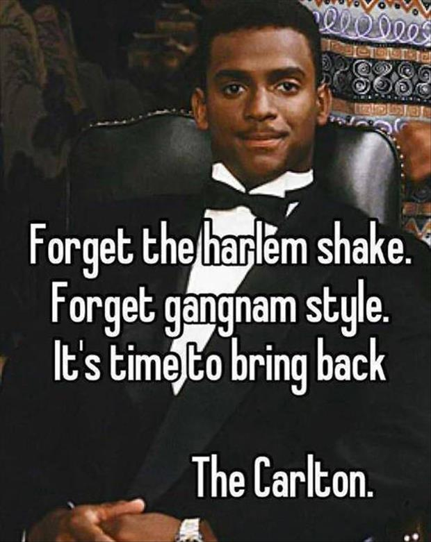 the carlton dance funny pictures