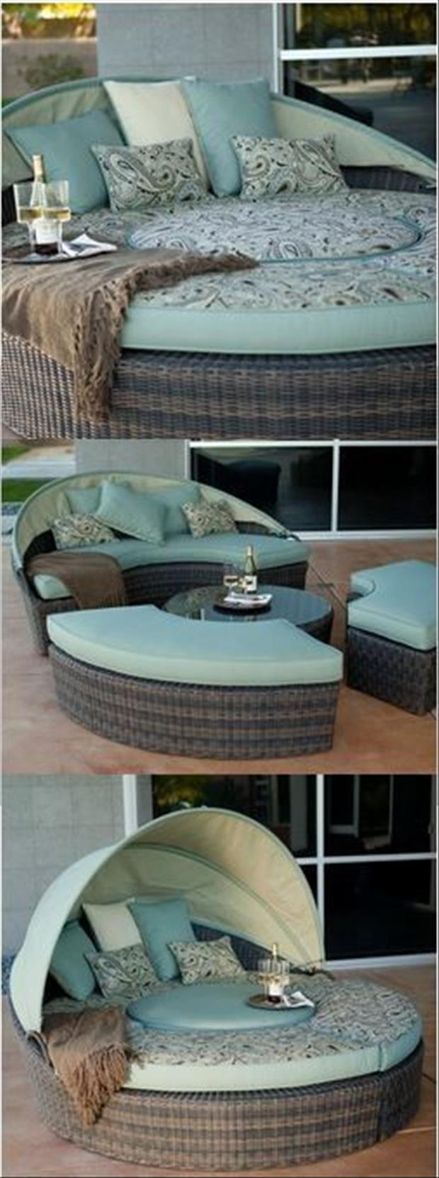 the deck bed