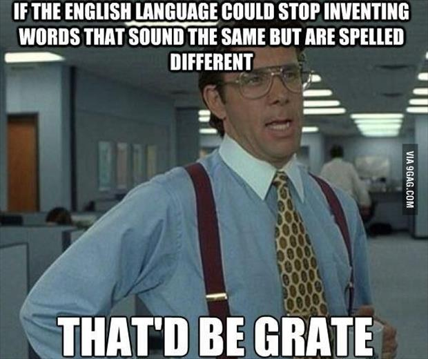 the english language
