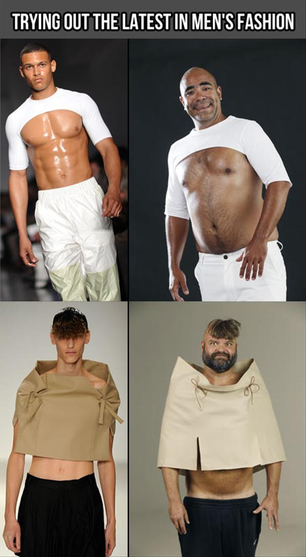 the latest in men's fashion