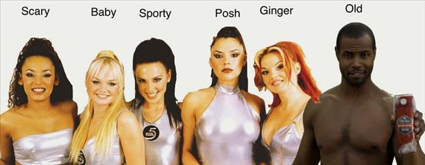 the spice girls funny pictures