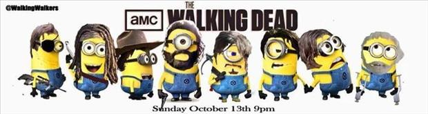 the walking dead minions