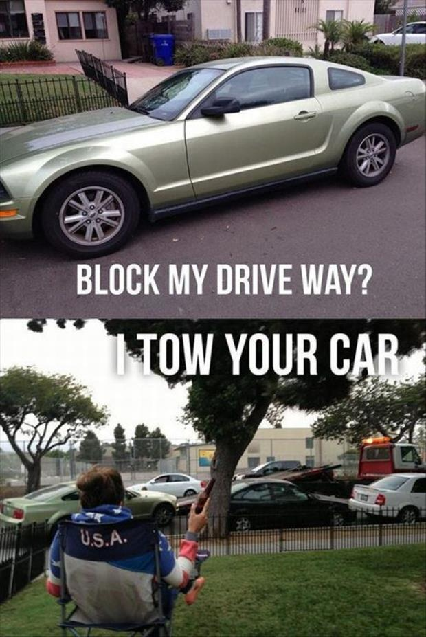 tow your car