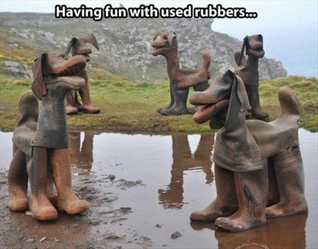 used rubbers