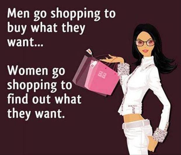 why women shop