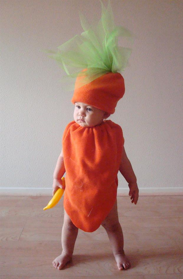 Adorable Baby Costumes- Carrot