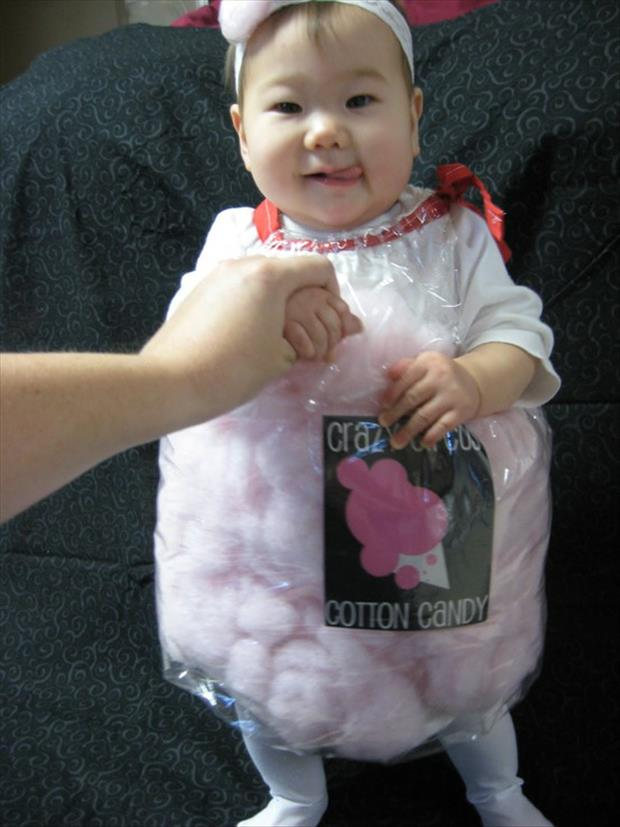Adorable Baby Costumes- Cotton Candy