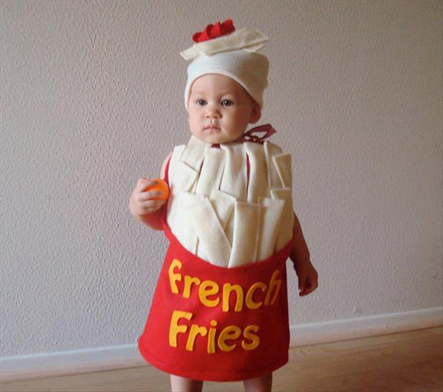Adorable Baby Costumes- French fries
