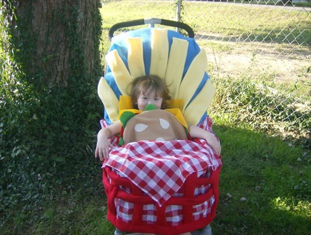 Adorable Baby Costumes- Hamburger