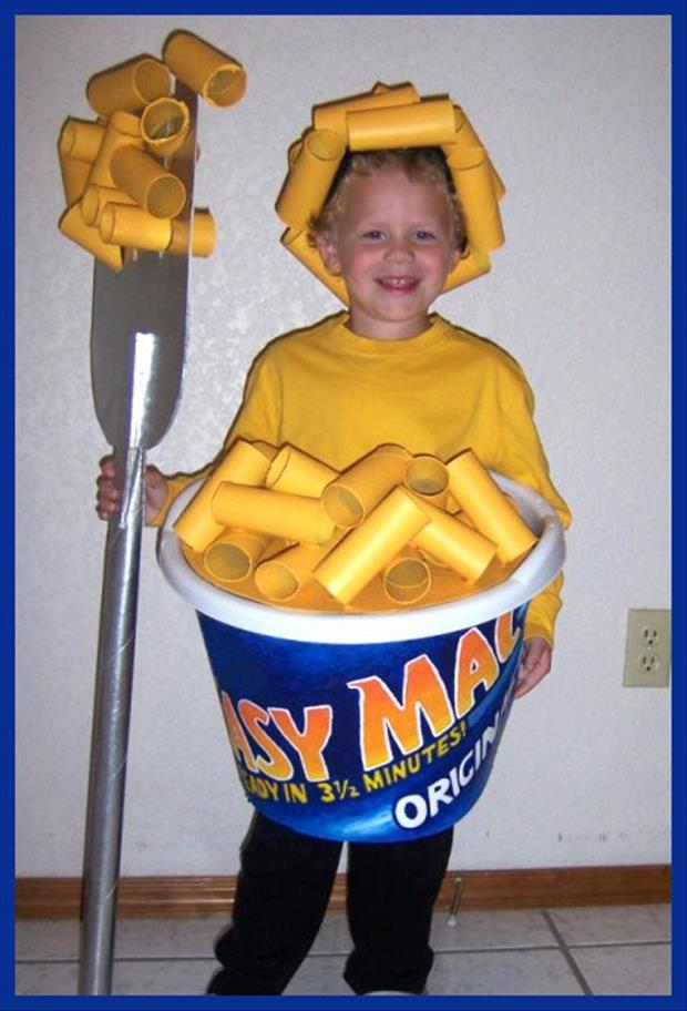 Adorable Baby Costumes-Mac n Cheese