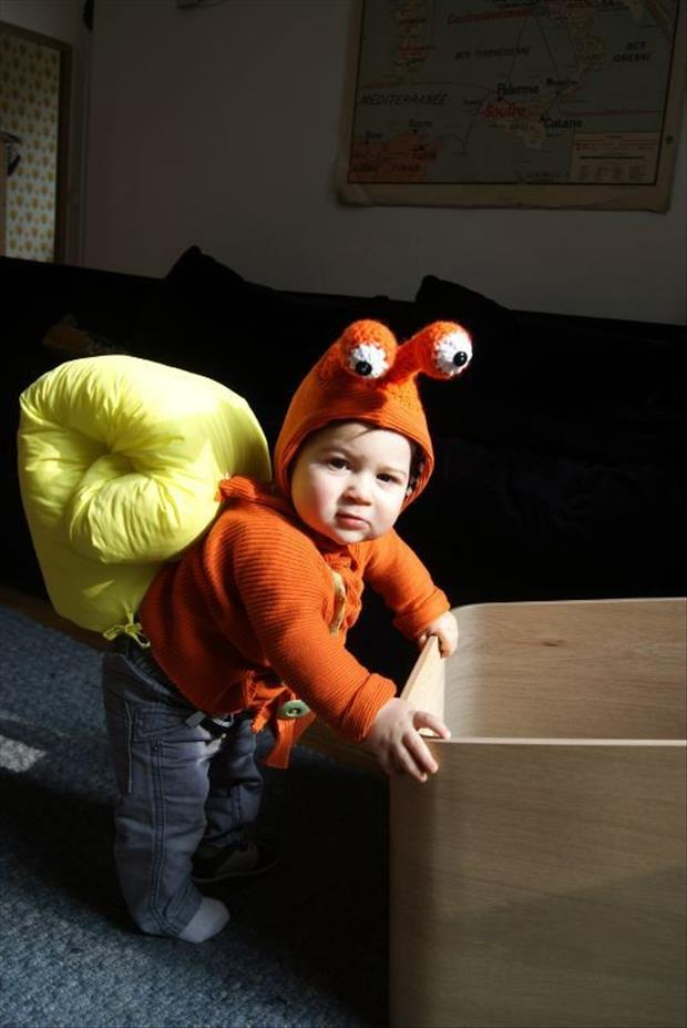 Adorable Baby Costumes- Snail Baby