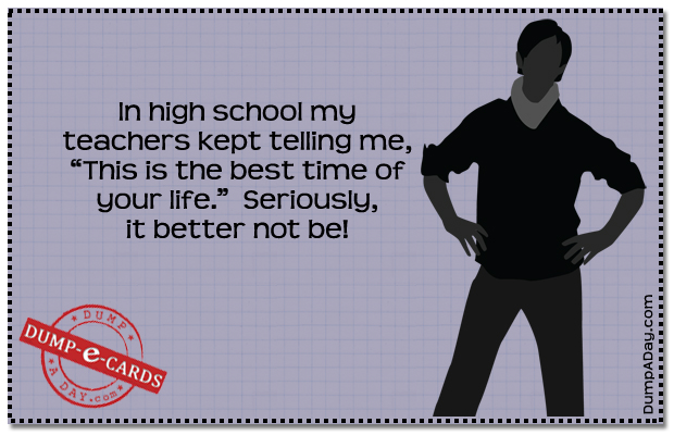 Best time of your life Dump E-card
