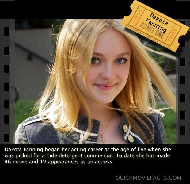 Dakota Fanning Fact