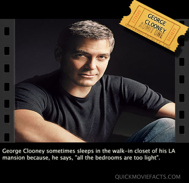 George Clooney Fact