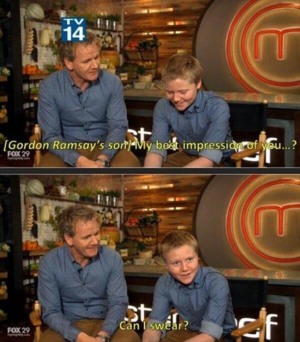 Gordon Ramsay's son