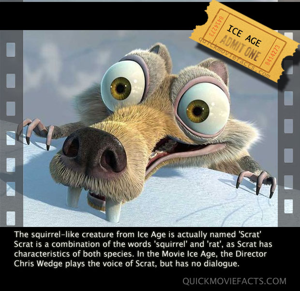 IceAge Movie Fact