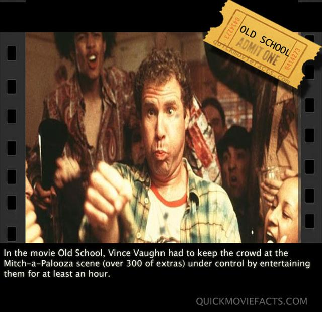 Old School Movie Fact