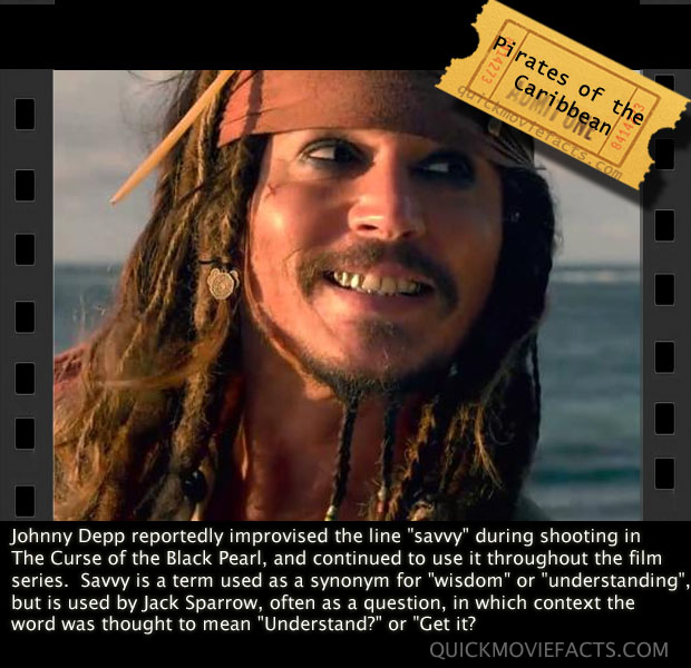 Pirates of Carrib Movie Fact