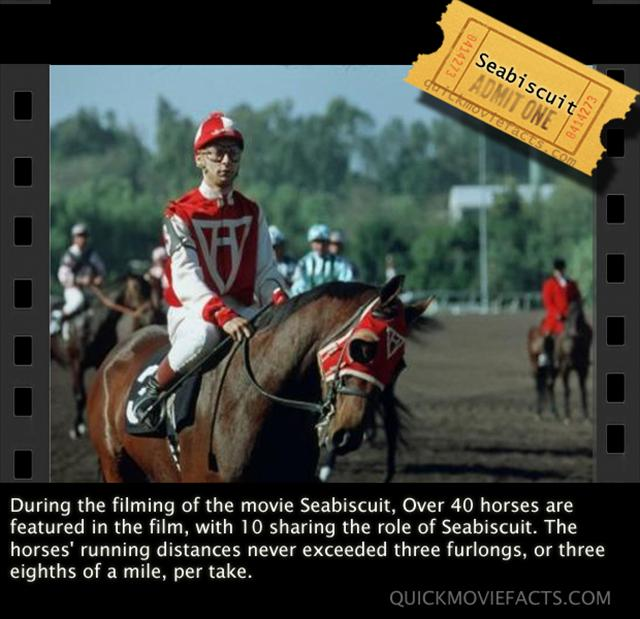 Seabiscuit Movie Facts