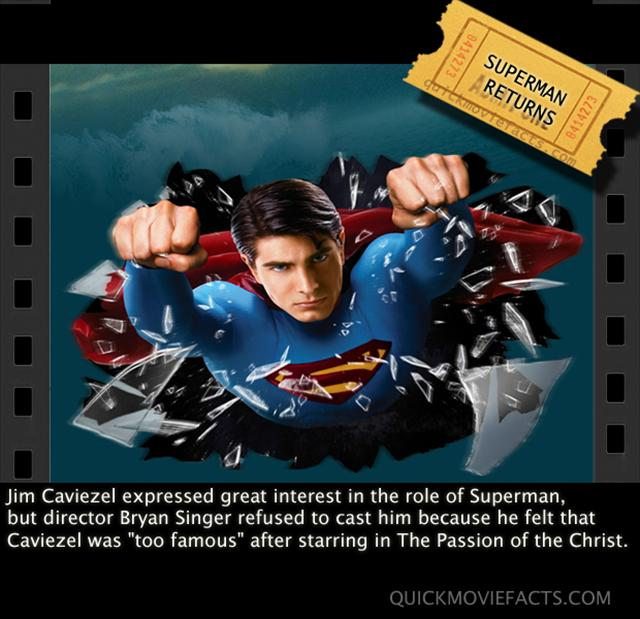Superman Returns Fact