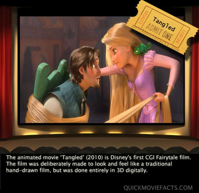 Tangled Movie Fact