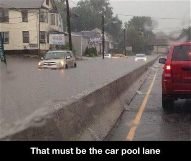 car pool lane
