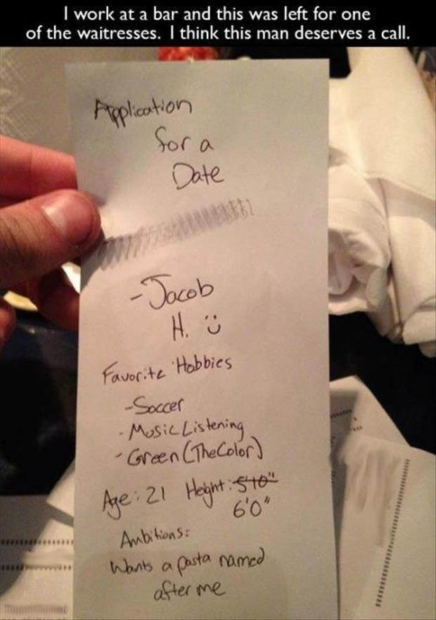 date applications