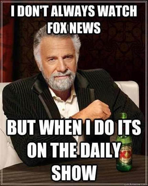 fox news on the daily show