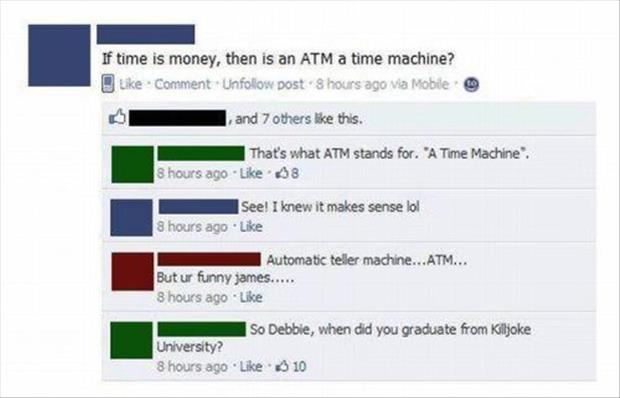 funny atm machines