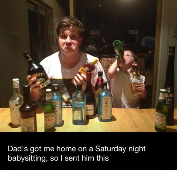 funny babysitters