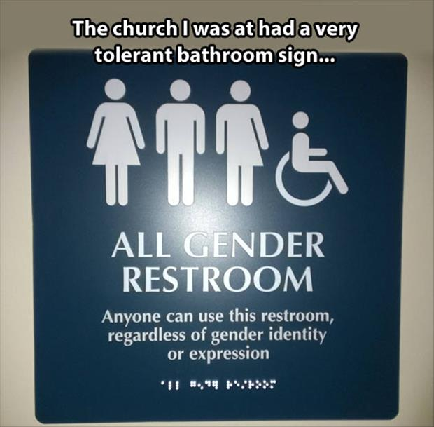 Bathroom Funny funny bathroom signs - dump a day