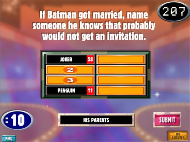 funny batman answers